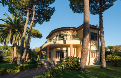 Villa Forte dei Marmi con dependance e 2 piscine